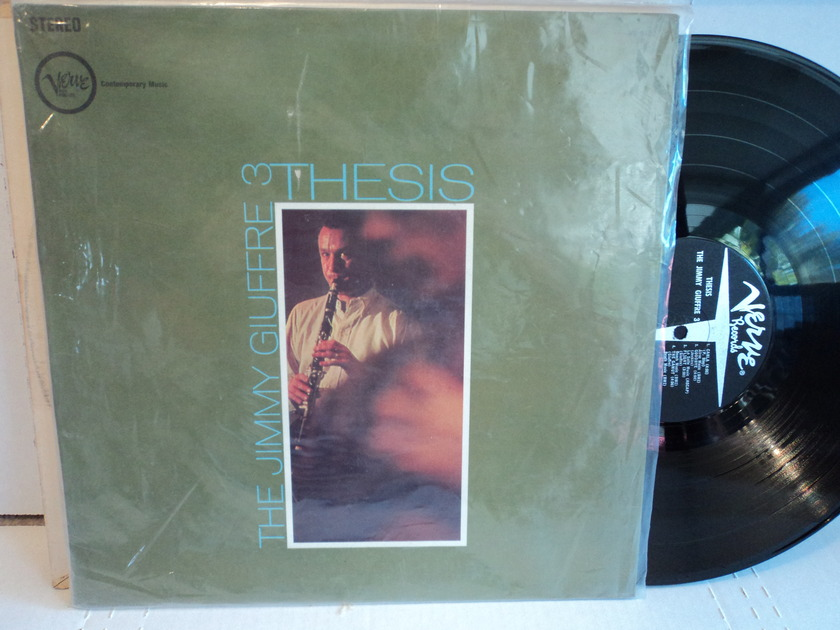 """Jimmy Giuffre - The Jimmy Giuffre 3 """"Thesis"""" 1961 Verve V6-8402 Vinyl NM"""
