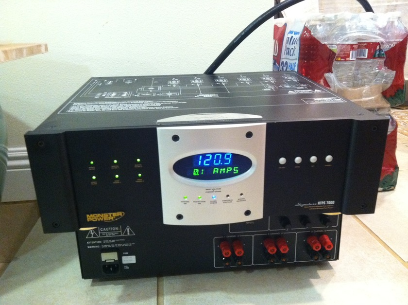 Monster HTPS 7000  SIGNATURE SERIES