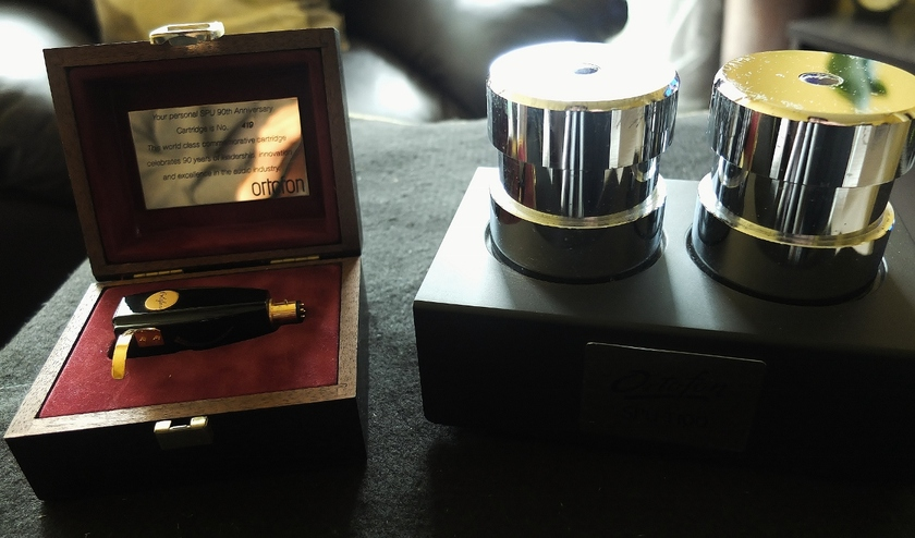 Ortofon SPU 90 Anniversary and SPU-T100 transformer