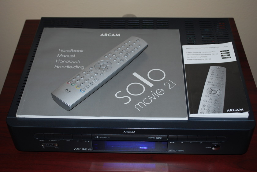Arcam Solo 2.1 Movie HDMI out! 2 x 50 Watts