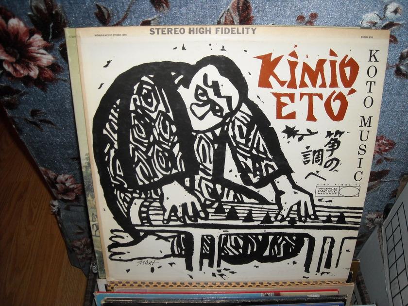 Kimio Eto' -  Koto Music World Pacific  LP (c)