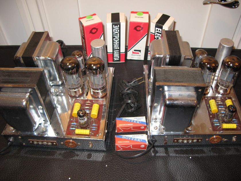 Dynakit MKIII Dual Mono Power Amplifiers