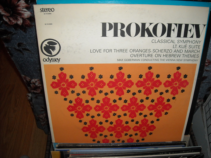 Prokofiev - The Vienna New Symphony Odyssey LP (c)