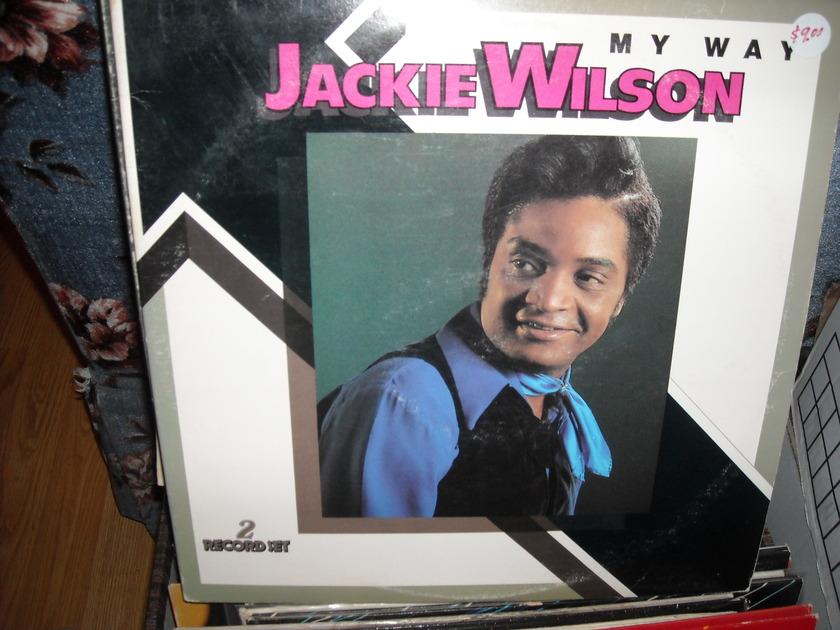 Jackie Wilson -  My Way Brunswick  2 LP Set  (c)