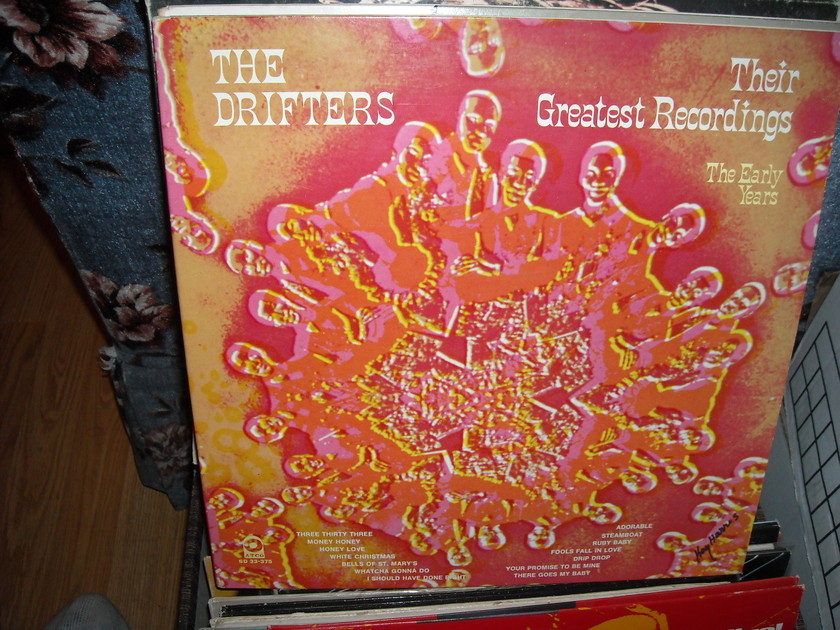 The Drifters - Their Greatest Recordings  Atco LP (c)