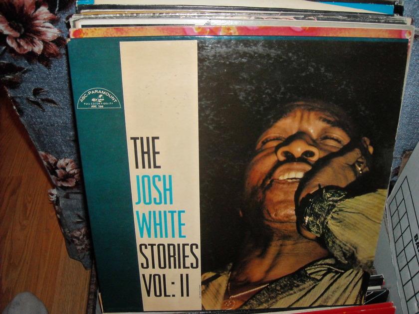 Josh White - The Josh White Stories Vol II ABC-Paramount  LP (c)