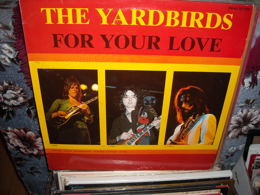 The Yardbirds - For Your Love Astan  LP (c)