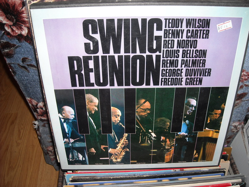 Swing Reunion - Various Artist BOMR  3 LP Box Set (c)