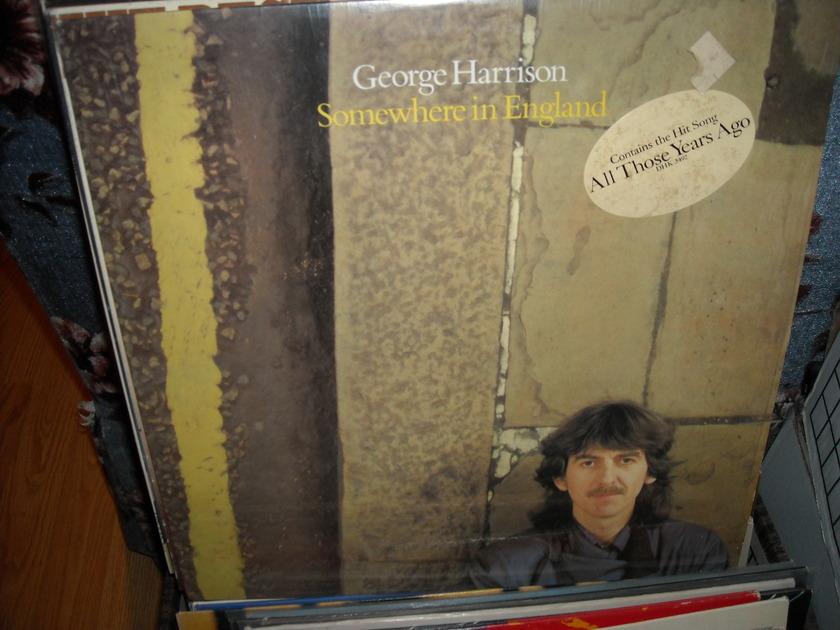 George Harrison - Somewhere In England Dark Horse  LP
