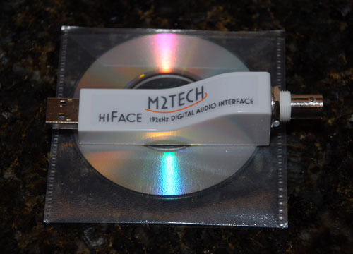 M2 Tech HiFace Digital interface (BNC)