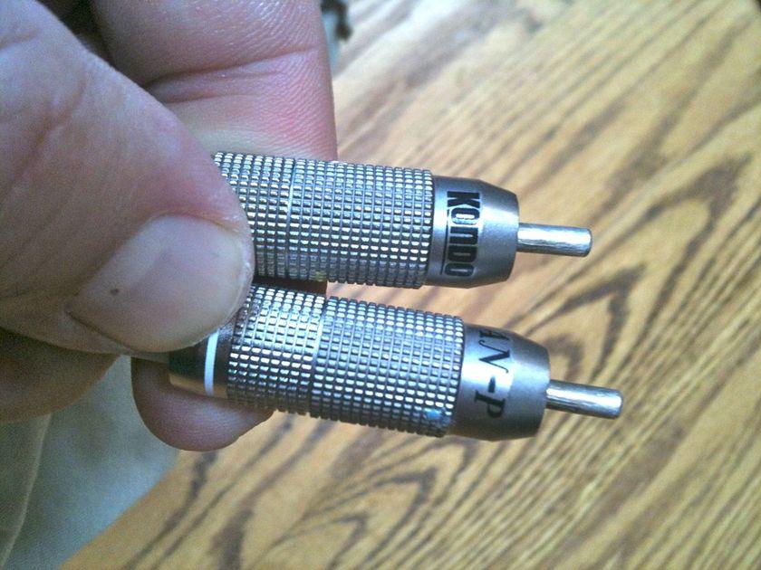 Audio Note KONDO KSL-vz 1 meter rca