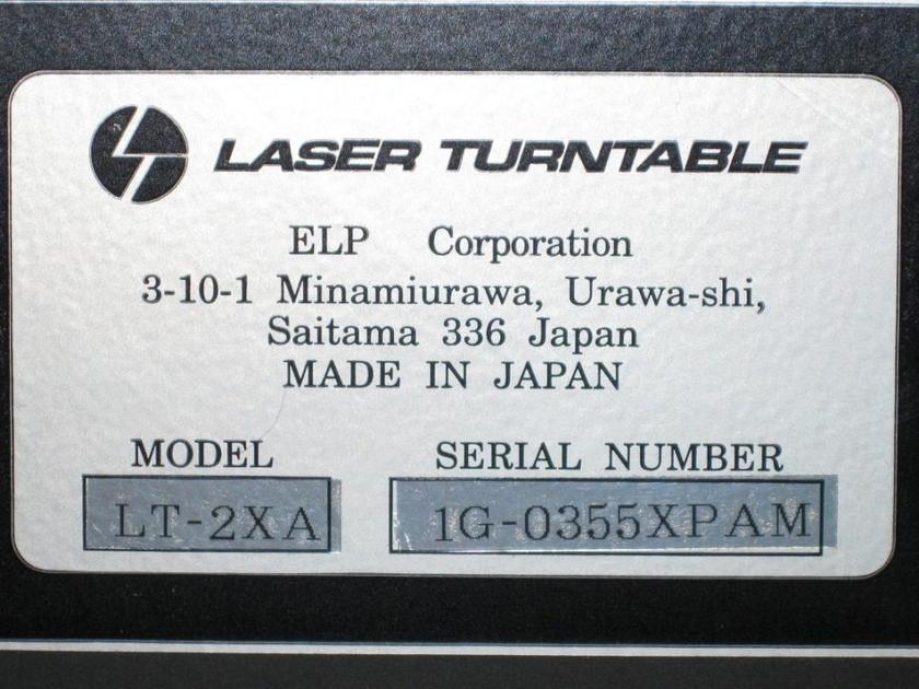 ELP  Laser Turntable LT-2XA Never used new in box!