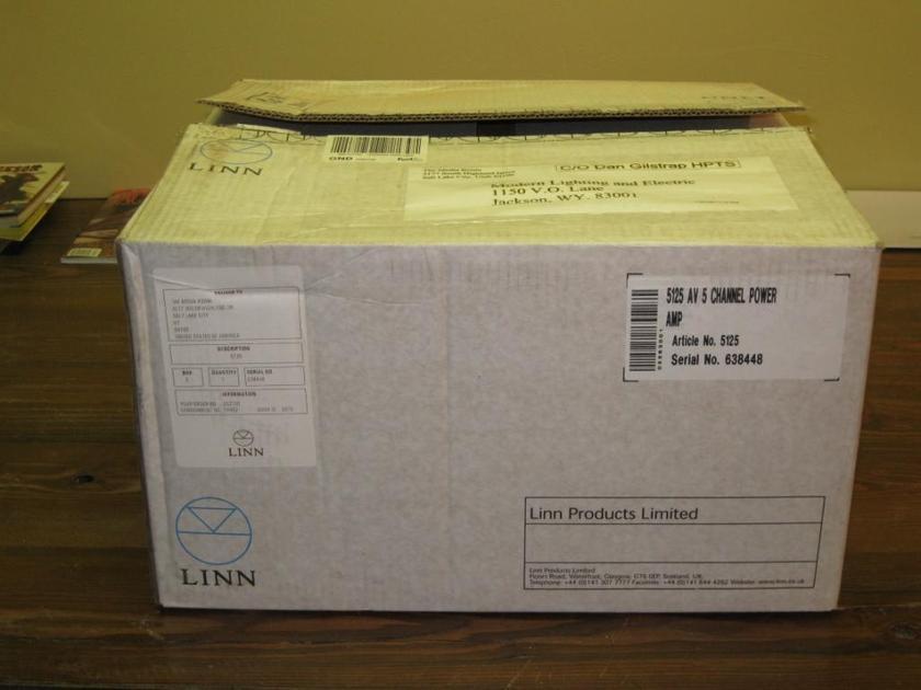 Linn  5125 AV 5 Channel Power Amp New in the box