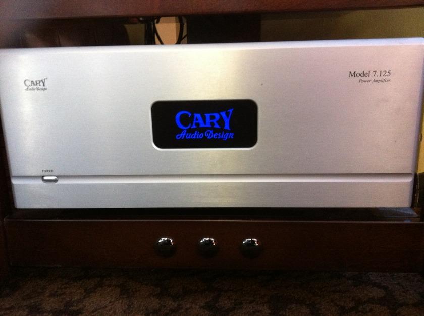 CARY AUDIO MODEL 7.125 7 x 125W POWER AMPLIFIER