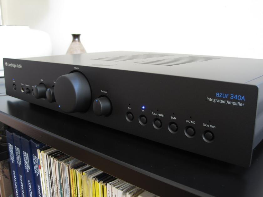 Cambridge Audio 340A Integrated Amp Original Box, Manual, Remote, Packaging
