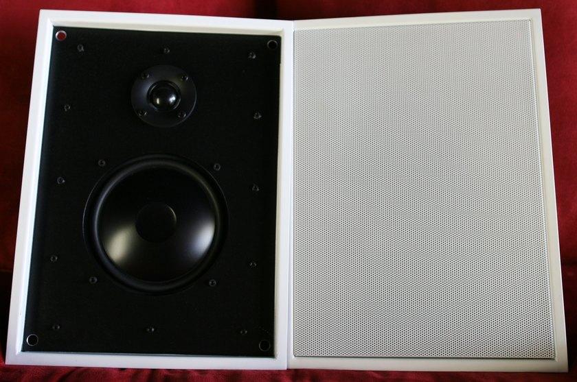 """James Loudspeakers 62ASX 6"""" 2 way Ultra Slim Speakers"""