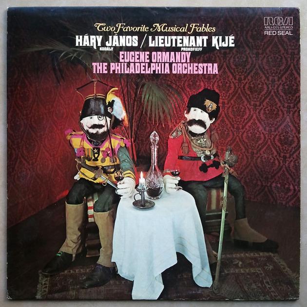 RCA/Ormandy/Kodaly - Hary Janos Suite, Prokofiev Lieutenant Kije / NM