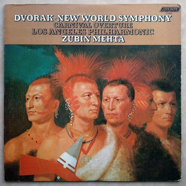 London/Mehta/Dvorak - Symphony No.9 From the New World / EX