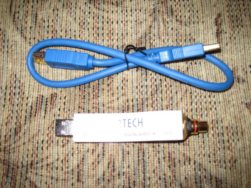 M2Tech Hiface 24/192 USB to S/PDIF (RCA)
