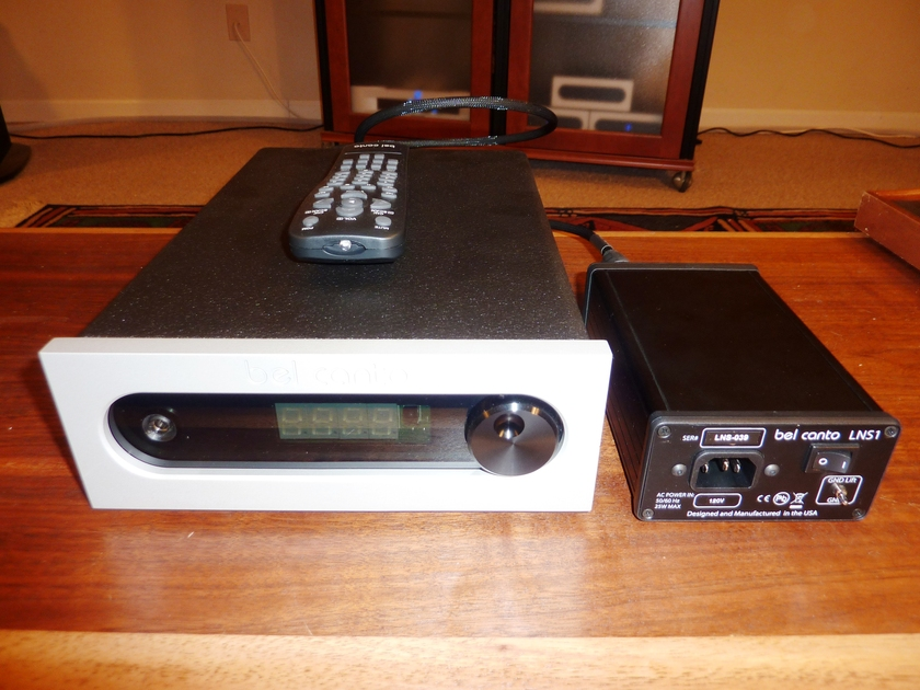 Bel Canto DAC 1.5 with LNS1 Power Supply Upgrade