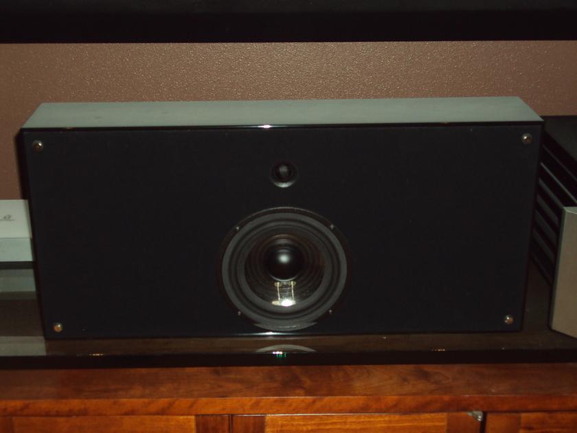 Verity Audio h2 Center Channel Speaker Gloss Black Like New