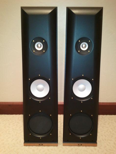 THIEL CS2.3 Loudspeakers (Natural Cherry)