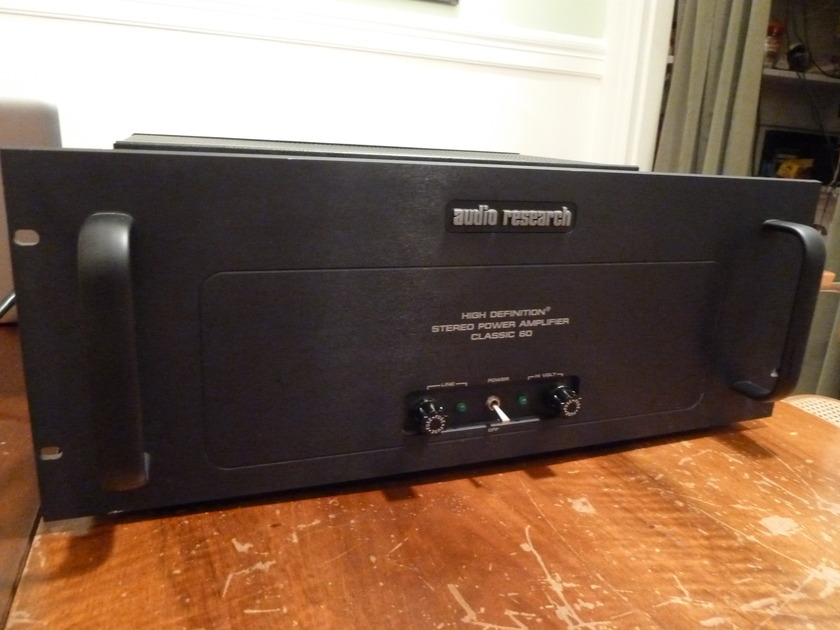 Audio Research AR Classic 60 ORIGINAL not the re-issue