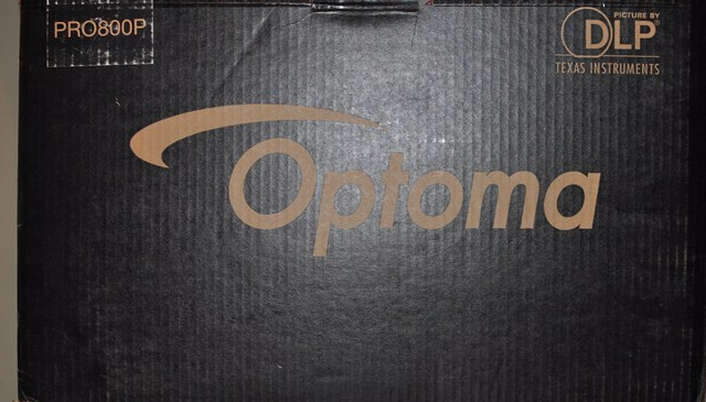 Optoma  PRO800P  Optoma PRO800P Projector 1920 x 1080 - 2800 lumens Like New 202 hours total use!