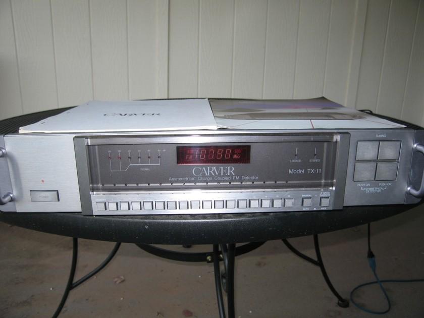 Carver TX-11 FM Tuner