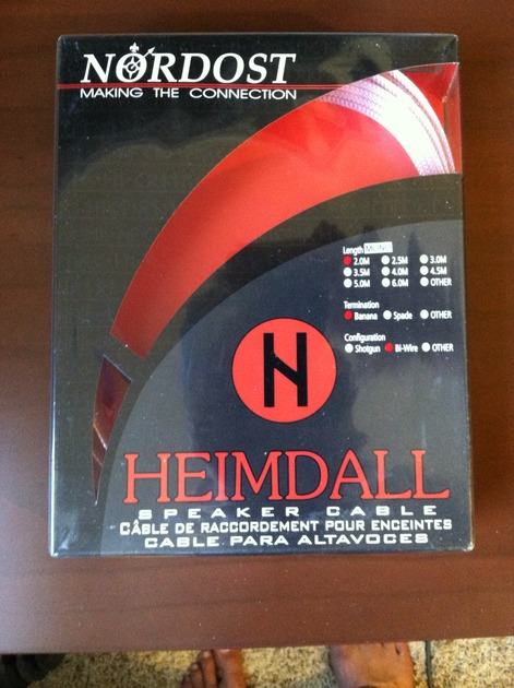 Nordost Hemdal Speaker Cable 2M Banana Bi-Wire (Mono)