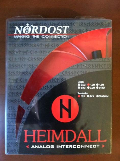 Nordost Hemdal XLR  1M Interconnects