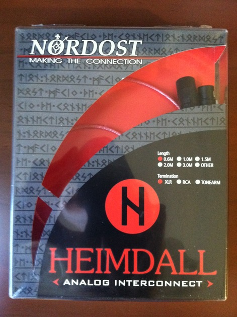 Nordost Hemdal XLR .6M Interconnects