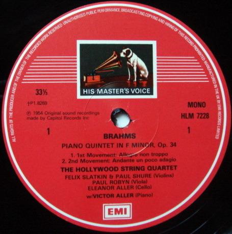 EMI HMV STAMP-DOG /  - The Legendary Hollywood String Quartet, MINT, 3LP Box Set!