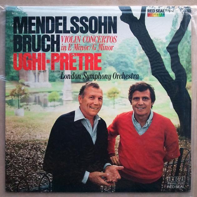 Sealed/RCA Digital/Uto Ughi/Mendelssoh - & Bruch Violin Concertos
