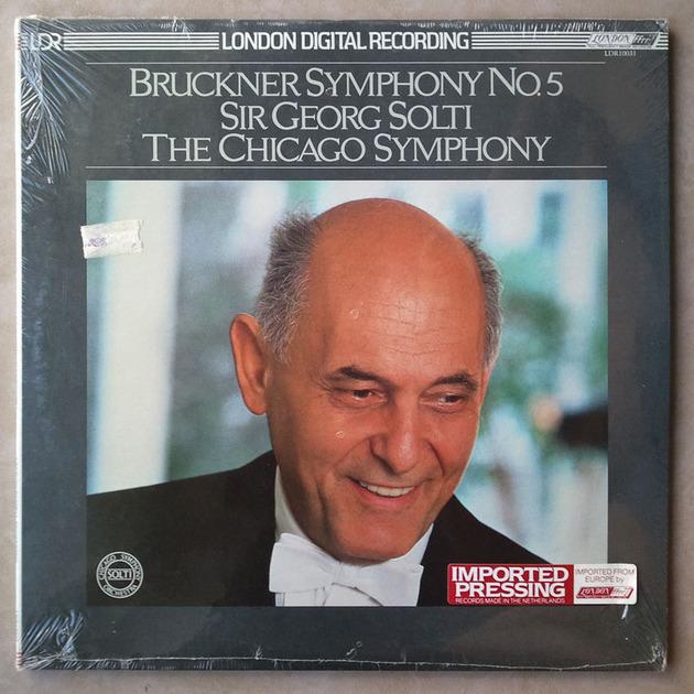 Sealed/London Digital/Solti/Bruckner - Symphony No. 5 / Impoted Pressing