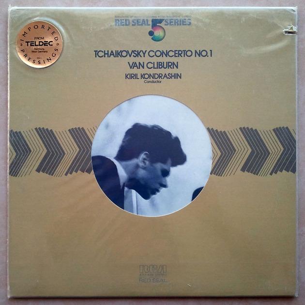 Sealed/RCA Half-Speed/Cliburn/Kondrashin/Tchaikovsky - Piano Concerto No.1 / Audiophile German Pressings