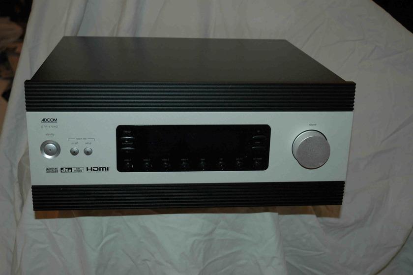 Adcom GTP870HD 7.1 Channel Pre-Amp GTP870HD