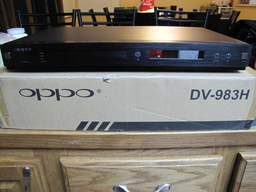 Oppo DV-983H SACD/DVDA/HDCD Great upscaling DVD player