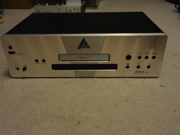 Ead dvdmaster 8000 pro dvd/cd player (acc.best offer)