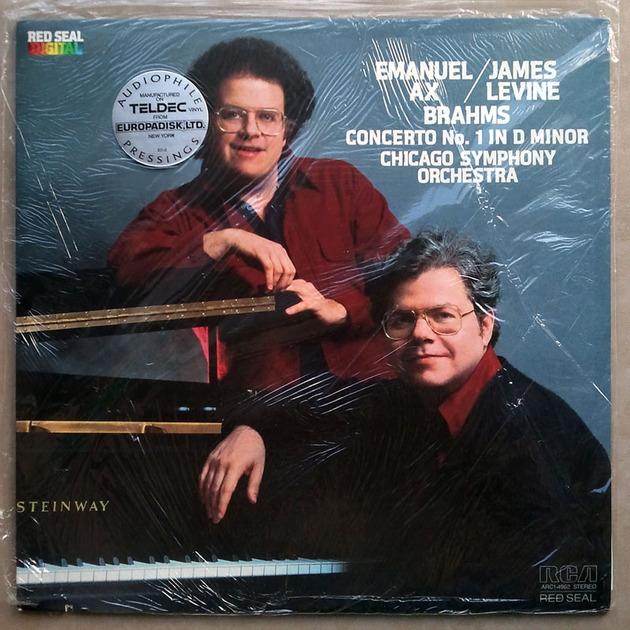 Sealed/RCA Digital/Emanuel Ax/Levine/Brahms - Piano Concerto No.1 / Audiophile Pressings