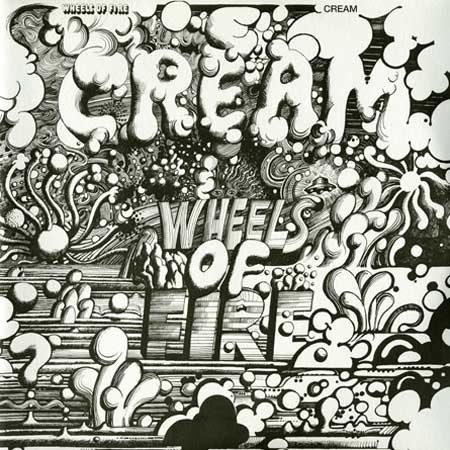 Cream   - Wheels of Fire 180 Gram Vinyl Record