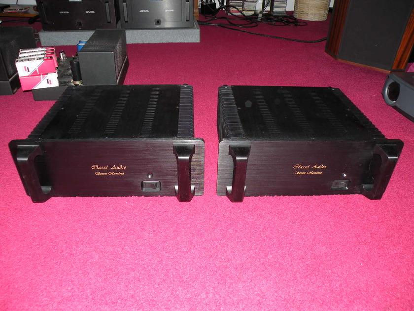 Classe M700 monoblocks 700wpc@8, 1400wpc@4 amplifiers Gorgeous graceful sound