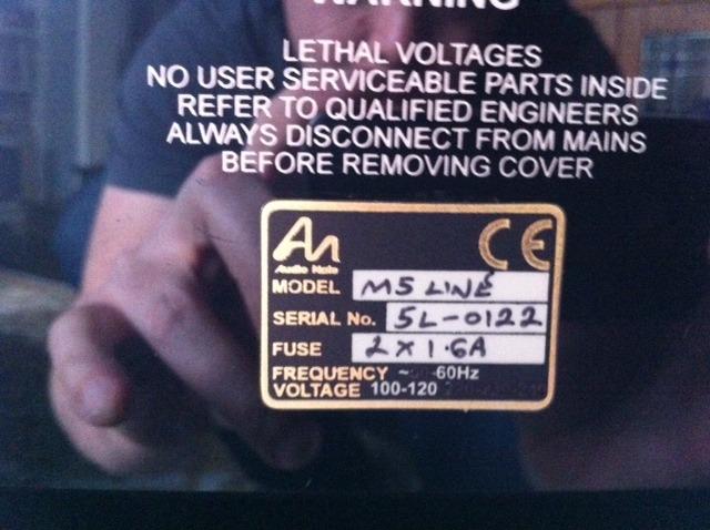 Audio Note M5 line Preamplifier