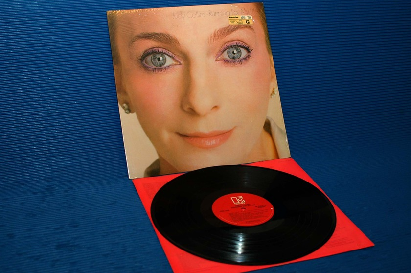 "JUDY COLLINS - - ""Running for My Life"" -  Elektra 1980"