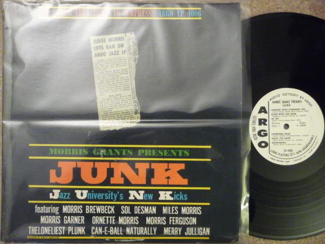MORRIS GRANTS - JUNK ARGO LP