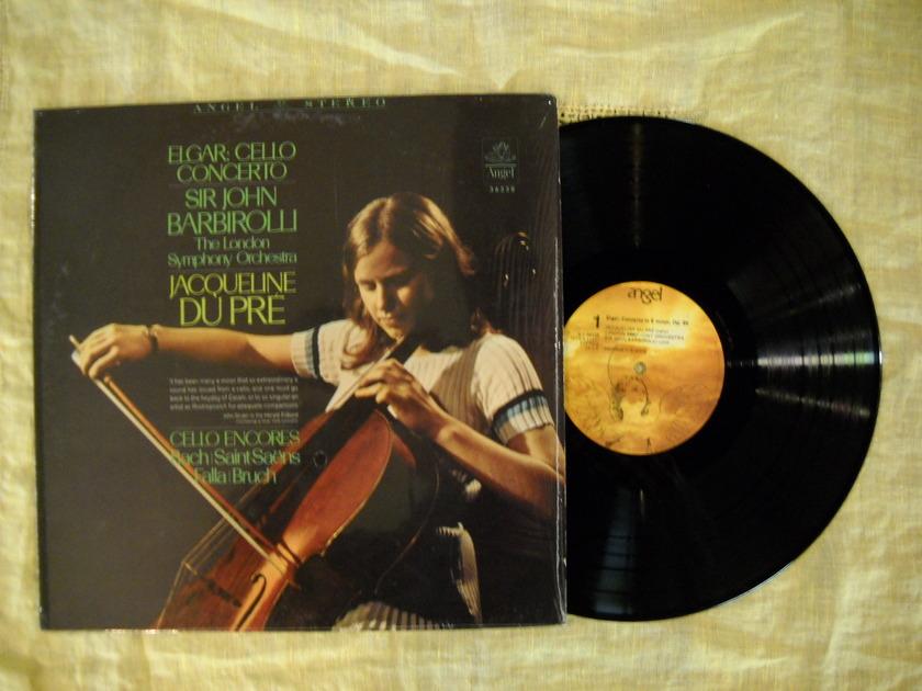 Elgar Cello Concerto - Sir John Barbirolli & Jacqueline Du Pre  NM