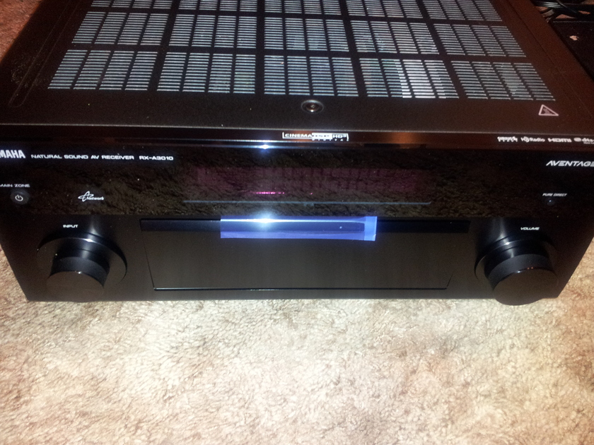 Yamaha RX-A3010 9.3 channels home theater receiver