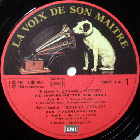 EMI ASD SEMI-CIRCLE / SCHARZKOPF, - Les Introuvables d' Elisabeth Schwarzkopf, MINT, 5 LP Box Set!
