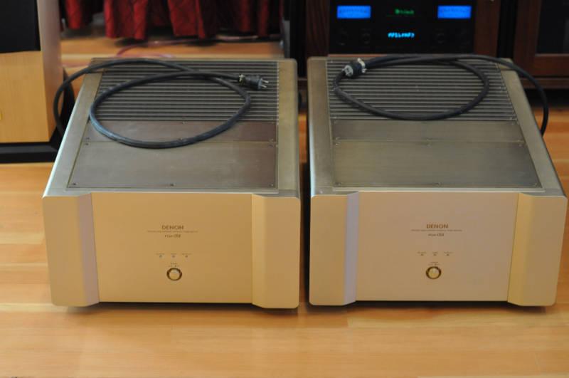 DENON POA-S1 Amplifiers Two Units