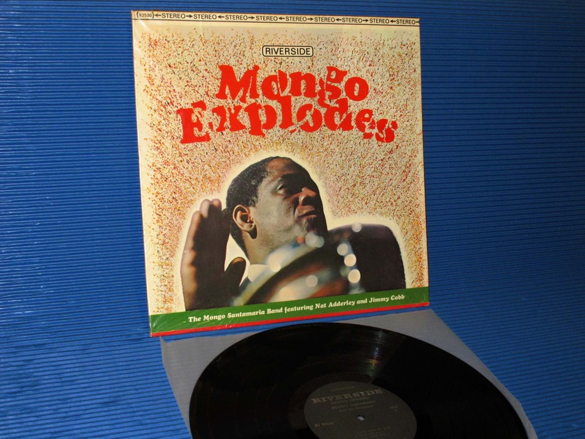"MONGO SANTAMARIA -  - ""Mongo Explodes"" - Riverside 1966"